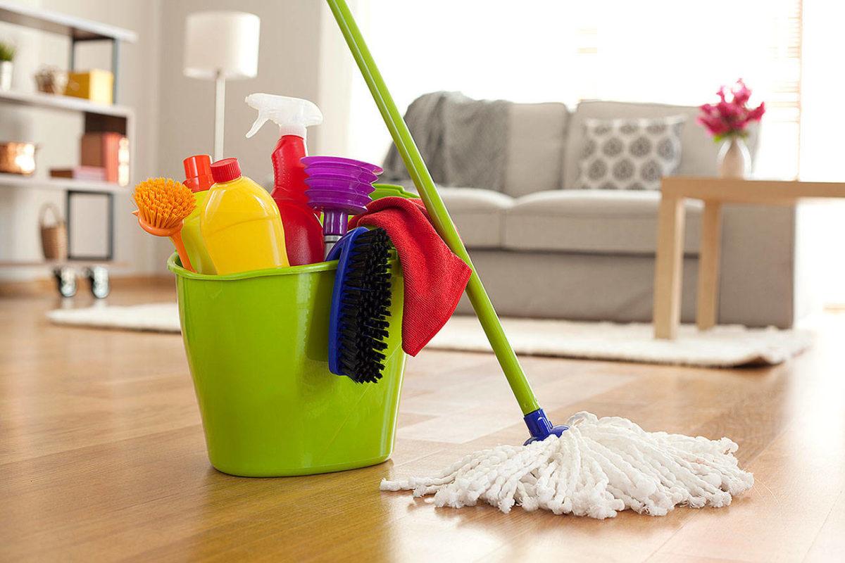 Несколько советов по уборке помещения