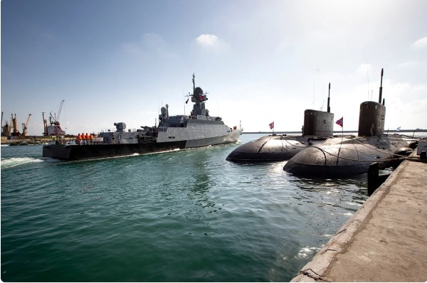 Россия начала строить военно-морскую базу в Венесуэле