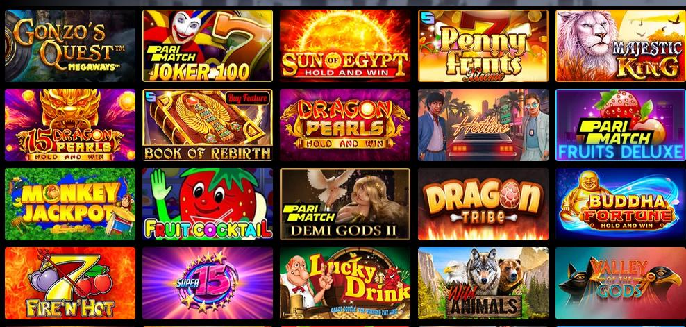 UA - игровые автоматы онлайн