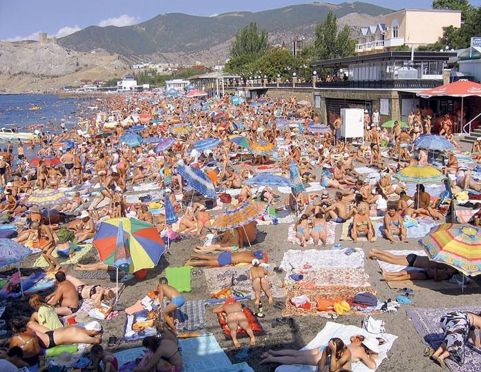 Крым побил рекорд постсоветского периода по количеству туристов