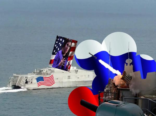 США выдвинули протест в адрес России в связи с жесткими действиями против американского военного корабля в Черном море