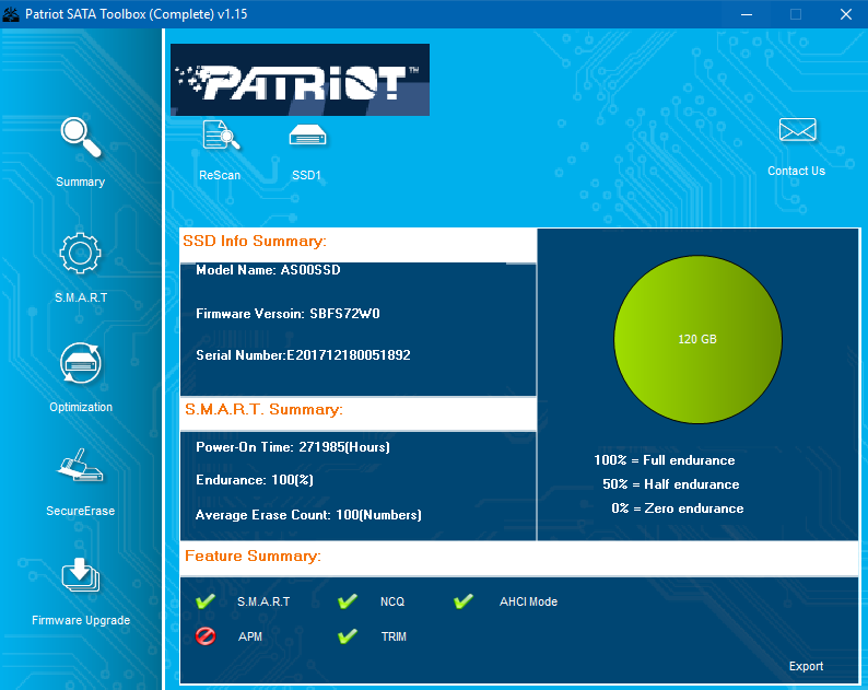 Radeon SSD R5SL120G не инициализируется :: Магнитные носители