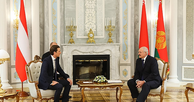 Курц после встречи с Лукашенко рассказал то, о чем не упомянула пресс-служба президента