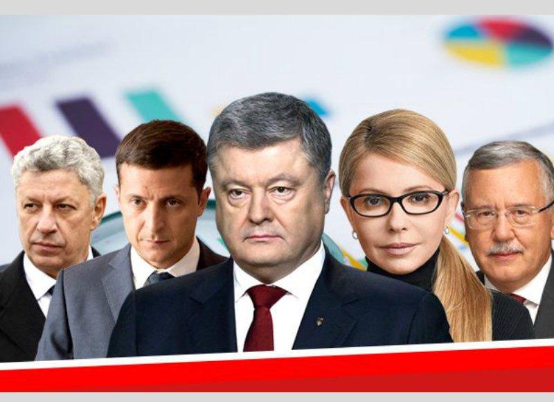 Опубликованы окончательные результаты экзитполов на выборах президента Украины