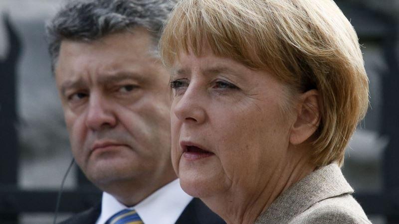 Германия наносит политический удар по Украине: Меркель «сливает» Порошенко