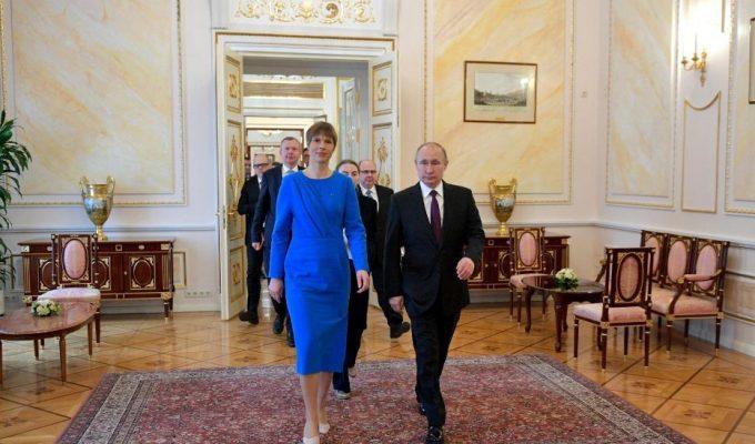 Визит президента Эстонии в Россию заставил Литву понервничать