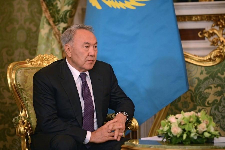Видео с рассуждениями Назарбаева о Новом Шелковом Пути появилось в Сети