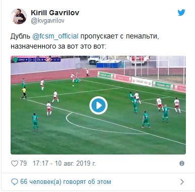 Нелепый пенальти в ворота «Спартака» и игрок вне заявки на поле. Трэш в Грозном