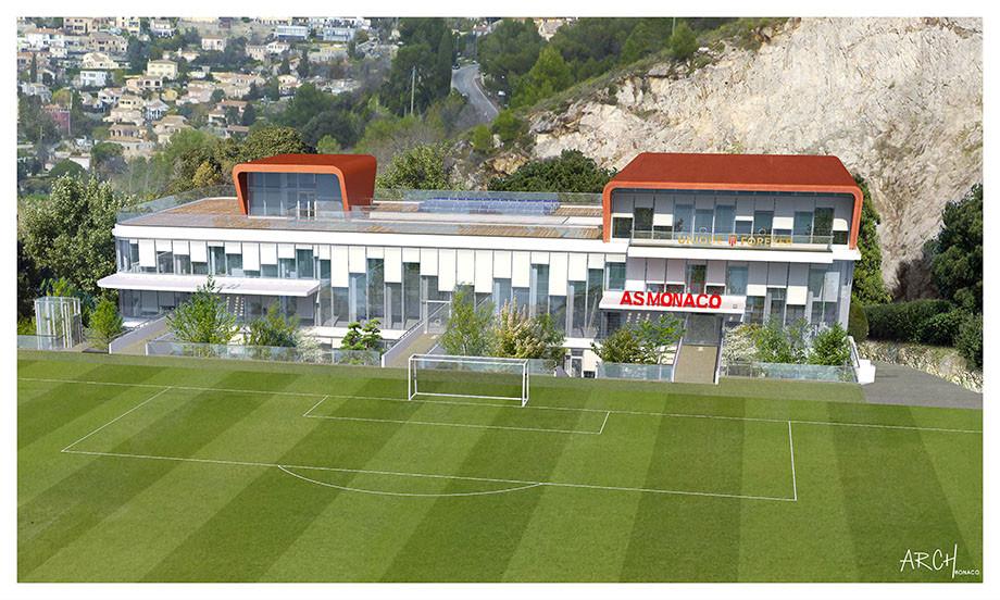 Здесь будет тренироваться Головин. Рыболовлев строит для «Монако» базу будущего
