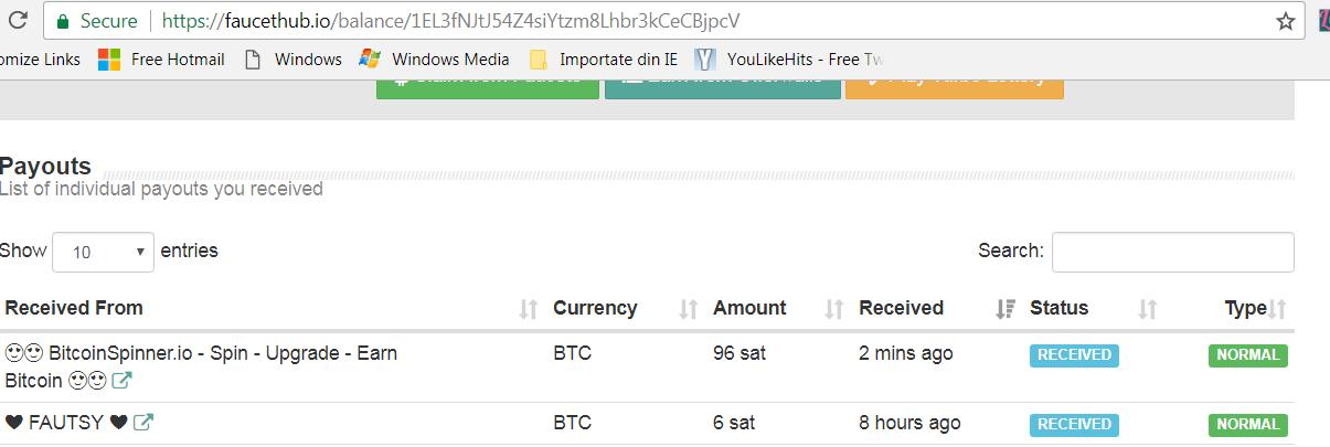 😍 BitcoinSpinner io - Spin - Upgrade - Earn 😍