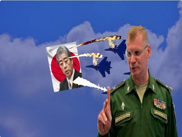 """""""Конкретный ответ и так должно быть с каждым"""": Россия ответила на угрозы Японии сбивать наши военные самолеты, следующие на южные Курилы"""