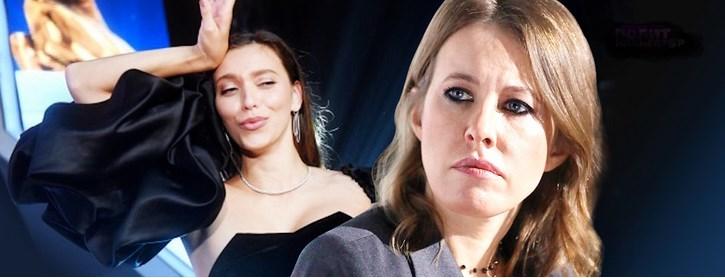 Собчак излилась ядом на украинскую телеведущую, получившую российскую премию