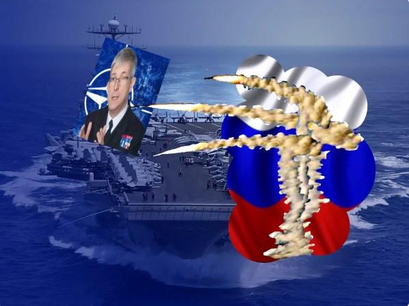 В НАТО выдвинули протест России в связи с тренировкой уничтожения объекта, имитирущего авианосец альянса в Черном море