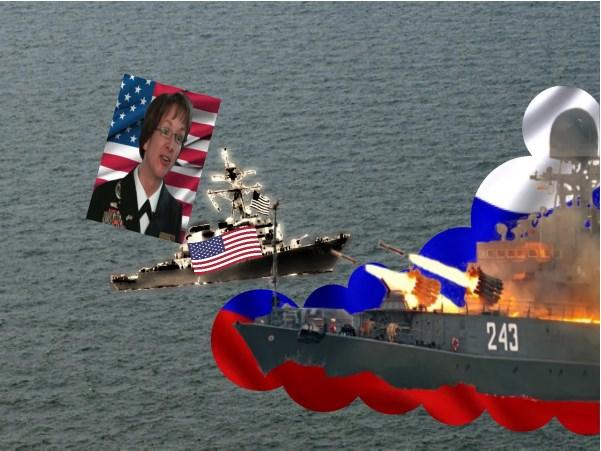 """Эсминец """"Портер"""" ВМС США, в следствие действий ВМФ России, в Черном море был вынужден преждевременно ретироваться"""