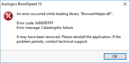 Error load browser.dll