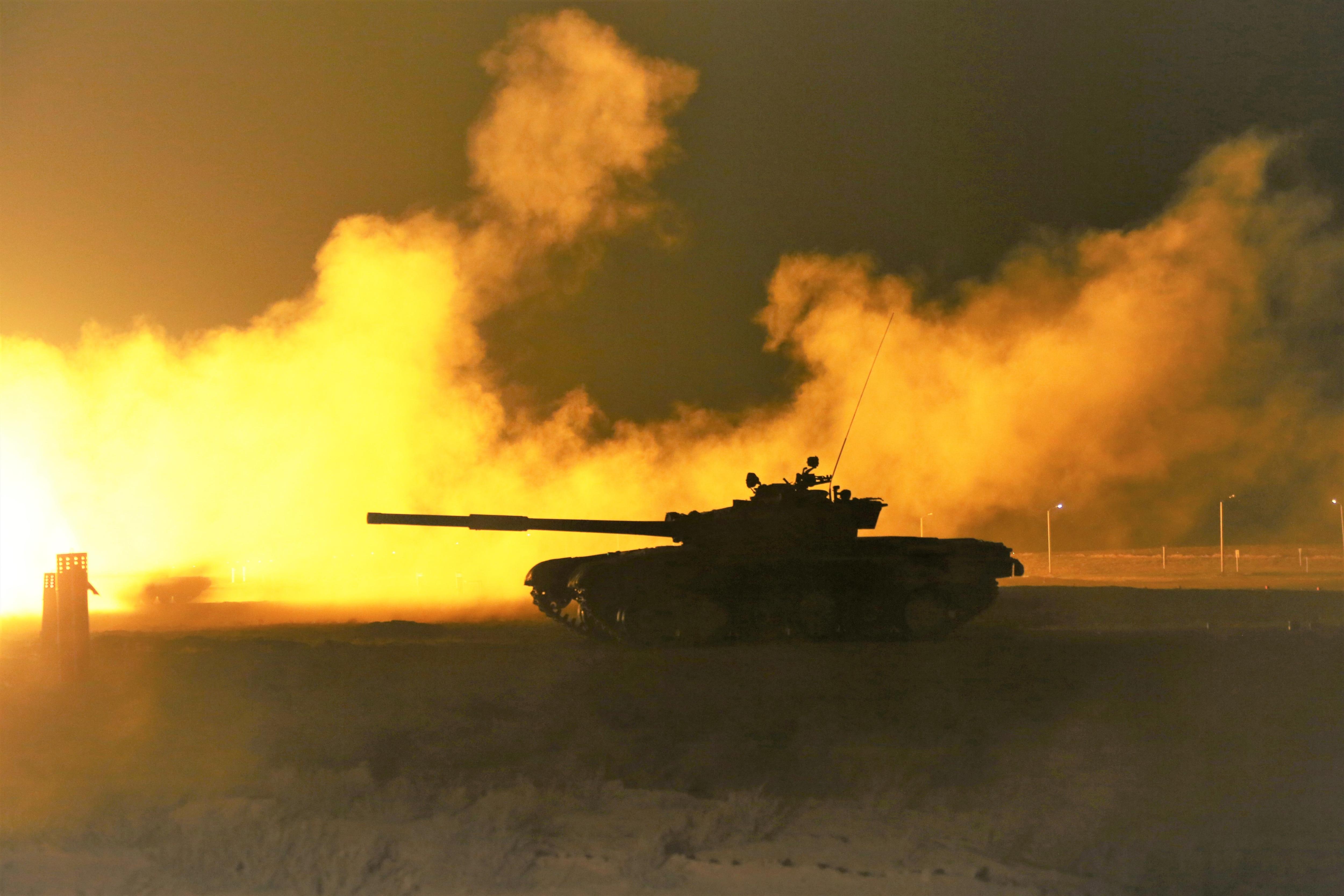 Танкисты регионального командования «Запад» провели штатные стрельбы