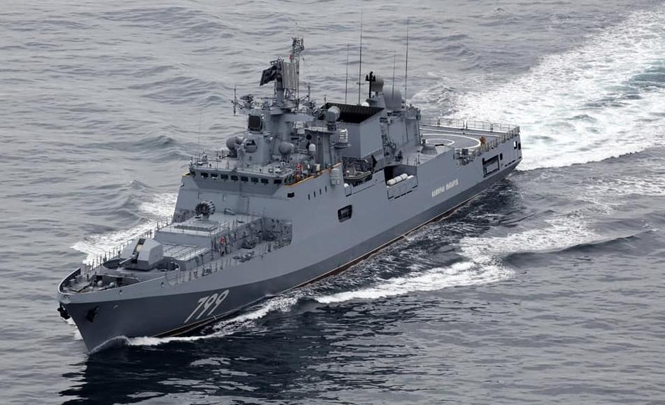 """Черноморский фрегат, вооруженный """"Калибрами"""", отправился в Средиземноморье"""
