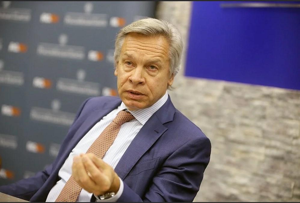 Пушков высмеял «мирный план» посла Украины по «развалу» России