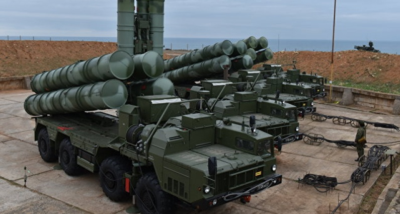 Система ПВО Крыма усилена еще одним дивизионом С-400