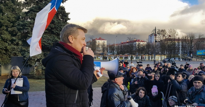 Белорусская оппозиция призвала выслать из страны российского посла Бабича