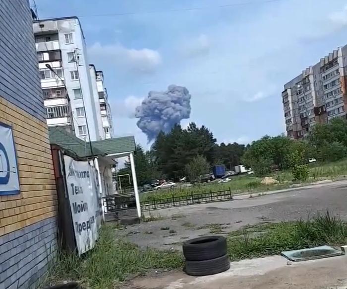 В Дзержинске произошёл большой взрыв